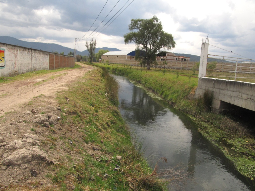 Irrigation channel near Ciudad Hidalgo